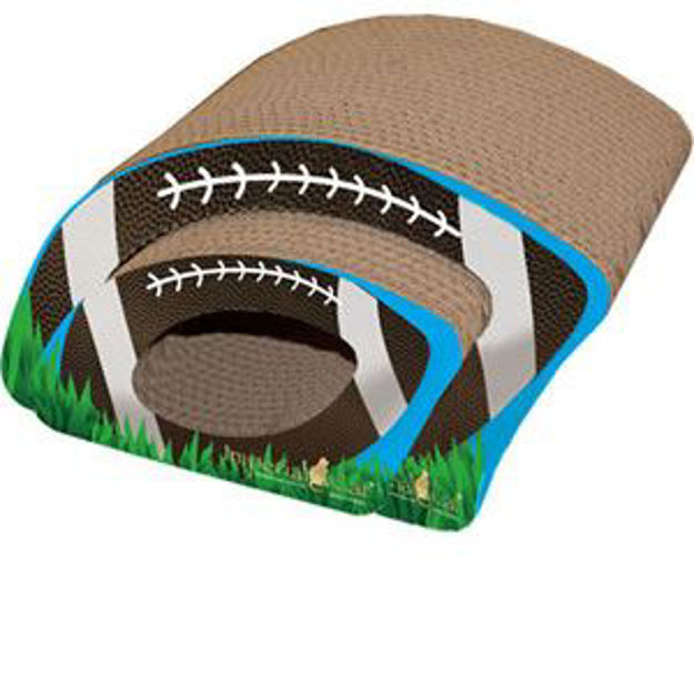 Picture of Scratch N Shapes Football Cat Scratcher