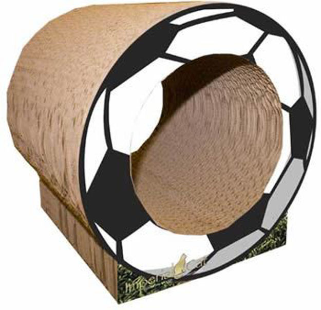 Picture of Scratch N Shapes Soccer Ball Scratcher - Small