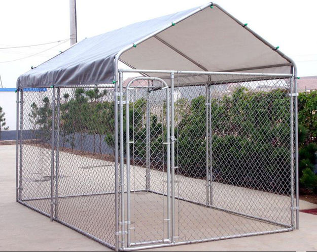 Picture of All Steel Dog Kennel - 6'