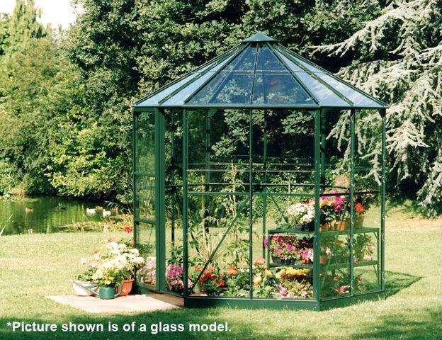 Picture of Halls Hexagonal Greenhouse - Green