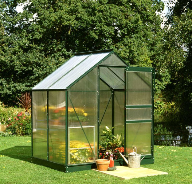 Picture of Halls Popular 46 Greenhouse - Green