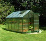 Picture of Halls Popular 106 Greenhouse - Green