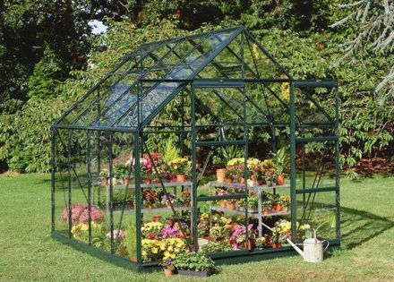 Picture of Halls Magnum 88 Greenhouse - Green
