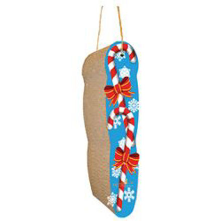 Picture of Scratch N Shapes Candy Cane Hanging Scratchers
