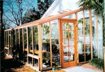 Picture of Sonoma 12'W x 12'L Redwood Lean-To Greenhouse