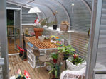 Picture of Sunglo 1700C Lean-To Greenhouse