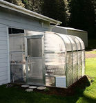 Picture of Sunglo 1700D Lean-To Greenhouse