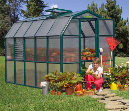 Picture of Majestic 8 Premium Greenhouse Kit