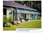 Picture of Eco SunRoom 24 Lean-To Greenhouse Kit - Acrylic