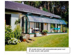 Picture of Eco SunRoom 20 Lean-To Greenhouse Kit - Poly