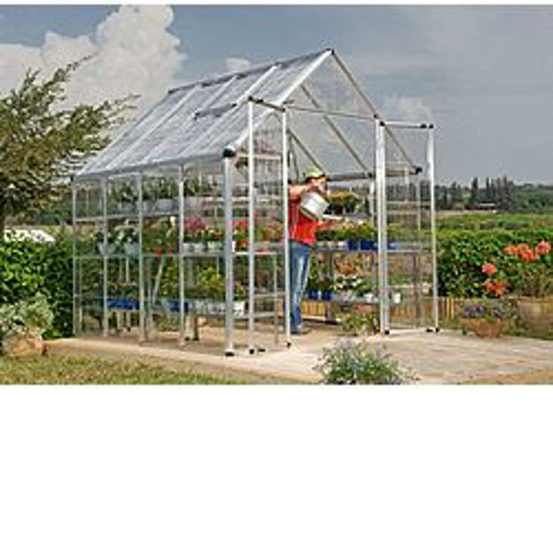 Picture of Snap & Grow Silver 8 x 8 Greenhouse Kit