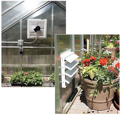 Picture of Shutter Fan Exhaust System (Non-Motorized)
