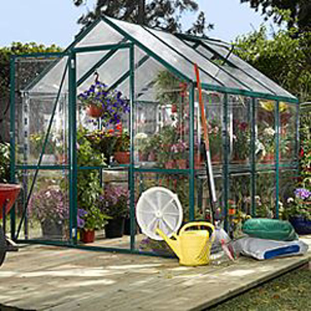 Picture of Easy Grow Clear 6 x 8 Greenhouse Kit