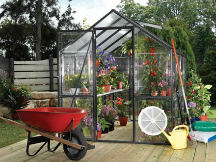 Picture of Easy Grow 6 x 8 Greenhouse Kit