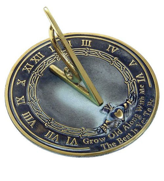 Picture of Brass Sundial - Grow Old With Me
