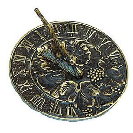 Picture of Brass Sundial - Grapevine