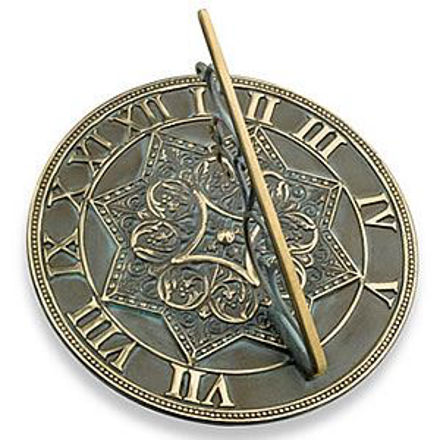 Picture of Brass Sundial - Gothic