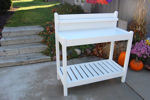 Picture of Dura-Trel Greenfield Potting Bench - Mocha