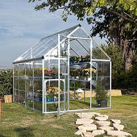 Picture of Nature Greenhouse Kit Silver 6' x 8'
