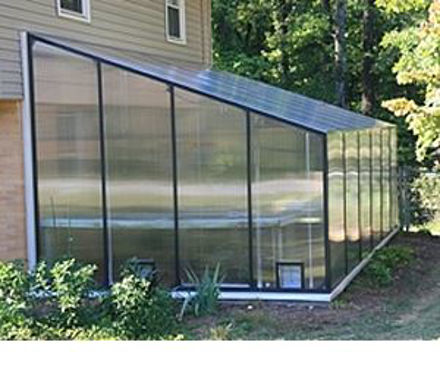 Picture of Montecito 12' W x 24' L Lean-to Greenhouse Kit