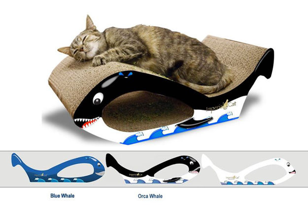 Picture of Scratch-N-Shapes Small Whale Cat Scratcher