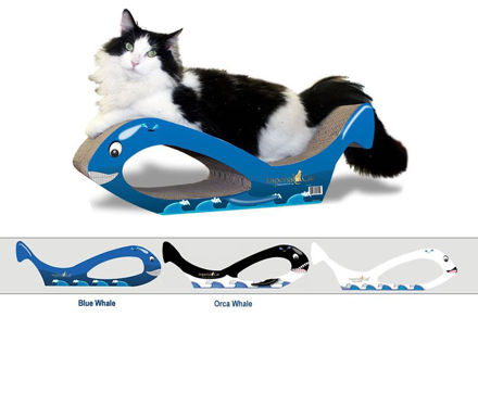 Picture of Scratch-N-Shapes Large Whale Cat Scratcher