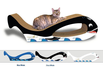 Picture of Scratch-N-Shapes-Giant Whale Cat Scratcher