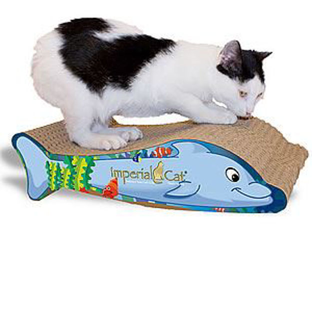 Picture of Scratch And Shape Dolphin Cat Scratcher