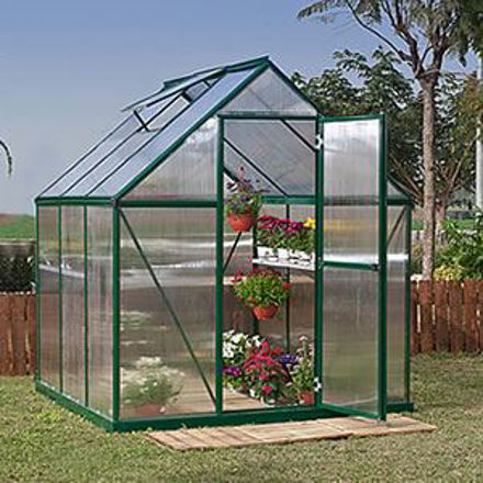 Picture of Nature Greenhouse Kit - 6' x 6' Green HG5006G