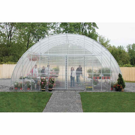 Picture of Clear View Greenhouse Kit 26'W x 12'H x 36'L - Propane