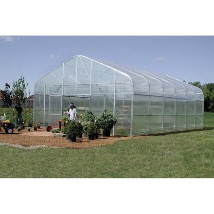 Picture of Majestic Greenhouse 28'W x 72'L Drop Down w/Film