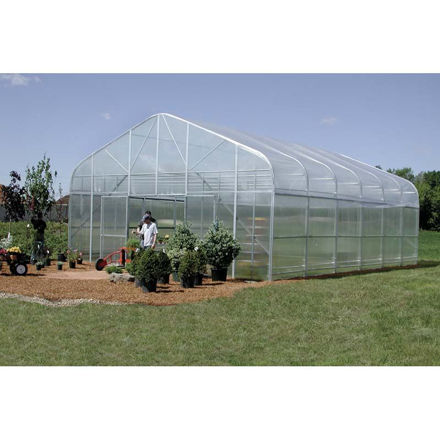 Picture of Majestic Greenhouse 28'W x 72'L w/Top/Side/Polycarbonate