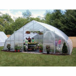 Picture of 30x12x36 Solar Star Gothic Greenhouse with Polycarbonate Ends and...