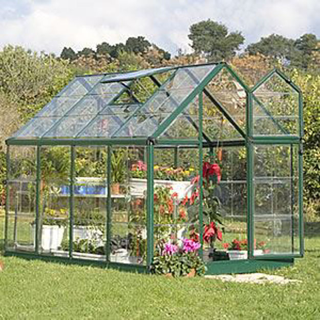Picture of Snap & Grow Green 6 x 8 Greenhouse Kit