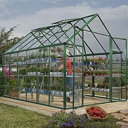 Picture of Snap & Grow Green 8 x 12 Greenhouse Kit