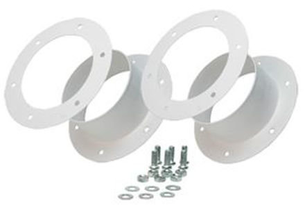 """Picture of Dual 4"""" Flange Kit"""