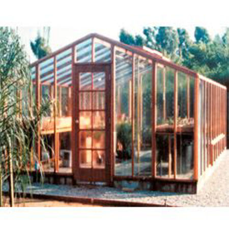 Picture for category SB Riverside 15' Redwood Greenhouses