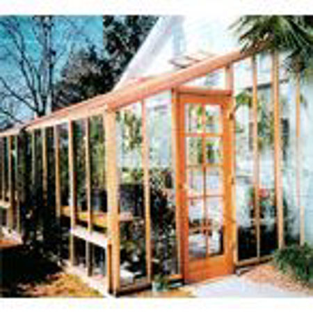 Picture for category SB Sonoma 9' Redwood Lean-To Greenhouses