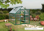 Picture of Nature Greenhouse Kit - 6' x 6' Silver HG5006