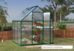 Picture of Nature Greenhouse Kit - 6' x 8' Silver HG5008