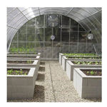 """Picture of Clear View Greenhouse Kit 20'W x 10'7""""H x 24'L - Natural Gas"""
