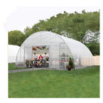 """Picture of Clear View Greenhouse Kit 20'W x 10'7""""H x 24'L - Propane"""