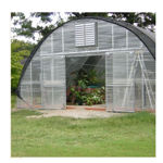 """Picture of Clear View Greenhouse Kit 20'W x 10'7""""H x 36'L - Natural Gas"""