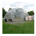 """Picture of Clear View Greenhouse Kit 20'W x 10'7""""H x 48'L - Natural Gas"""