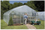 Picture of 34x12x72 Solar Star Gothic Greenhouse System with Polycarbonate...