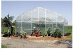 Picture of Majestic Greenhouse 20'W x 48'L Drop Down w/Film