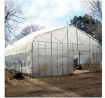 Picture of Majestic Greenhouse 28'W x 36'L Drop Down w/Film